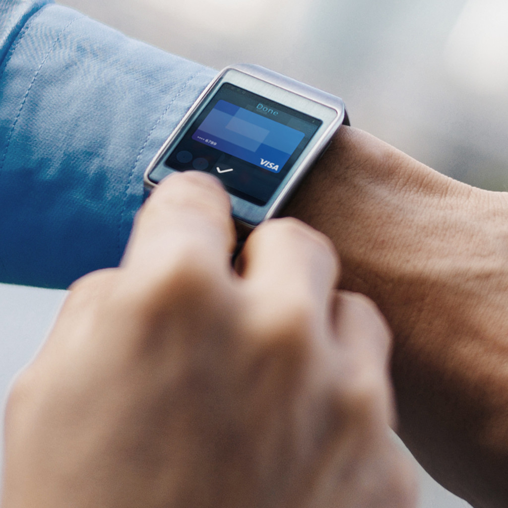 Pols met een smart watch