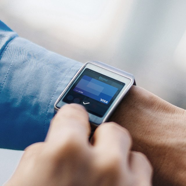 close-up van een smart watch