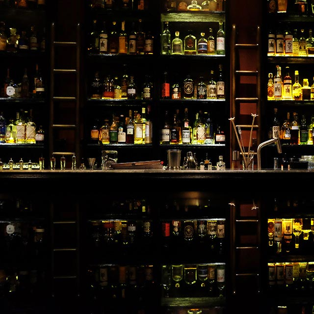 28, Hong, Kong, Straat, Cocktail, Bar