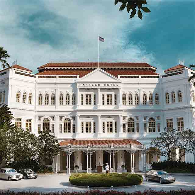 Raffles, Hotel, Singapore, Luxury, Accommodation