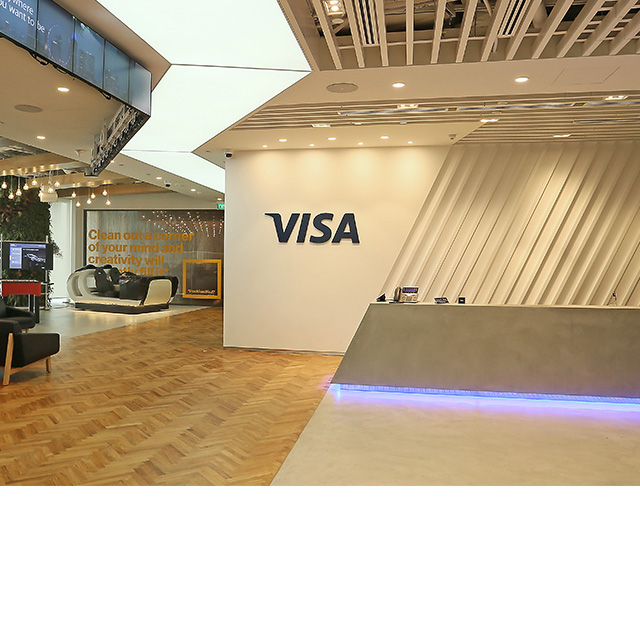Visa, Collab, Singapore, Innovatie, Centrum